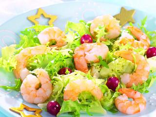 salade de crevette