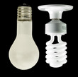 old light bulbs vs energysaving bulb