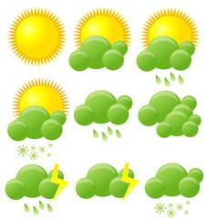 Eco weather icons