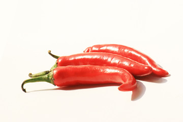 Red chillie peppers, Thailand