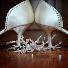 Shoes and Tiara
