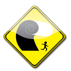 Icono tsunami
