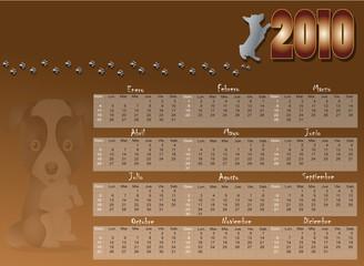 Calendario 2010 Canino