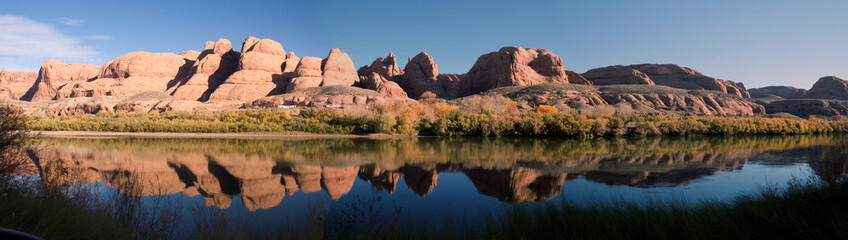 Reflections in the Colorado River