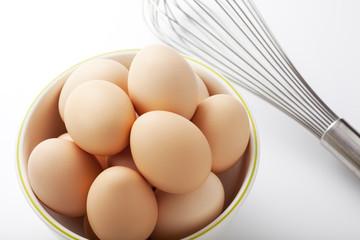 卵と泡立て器