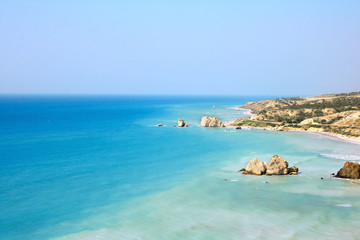 Aphrodite's legendary birthplace in Paphos,Cyprus.