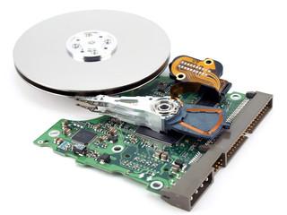Elements of hard drive