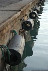 respingenti al porto