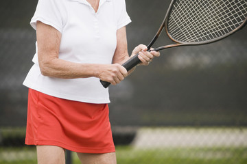 Senior tennis resort