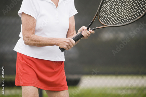 Senior tennis resort