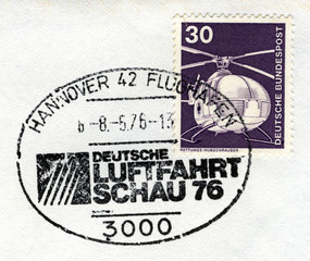 hannover airport postmark
