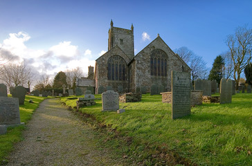 Davidstow church North Cornwall