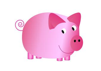 Schwein abstrakt