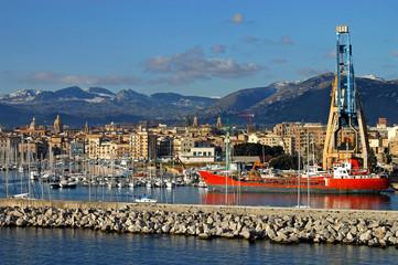 Il Porto di Palermo - Sicilia - Italia