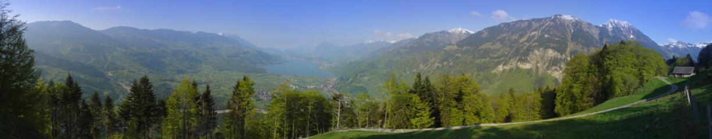 Panorama über Obwalden