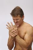 Hand wrist injury poster