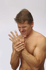 Hand wrist injury