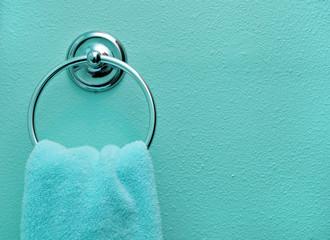 Teal Bathroom Towel