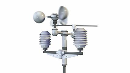 meteorological weatherstation - anemometer