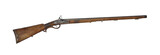 Middle-range hunting rifle of 19th century cutout poster