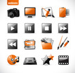 webicons2 - orange (combinable with my other icon sets)