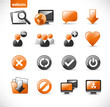 webicons3 - orange (combinable with my other icon sets)