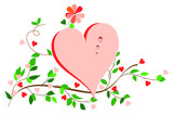 Simplicity Heart. poster