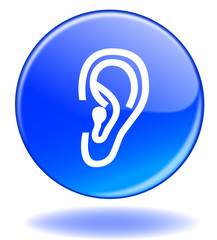 "Bouton ""Ecouter"" / ""Listen"" Button (ear - symbol - play)"
