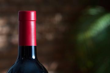 Head of Wine Bottle