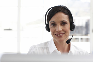 Friendly customer support agent