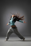 Naklejka dancing