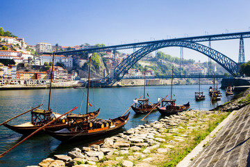 Dom Luis I Bridge, Porto, Douro Province, Portugal