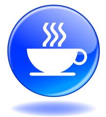"Bouton ""Café"" - ""Coffee"" Button (break - pause - work)"