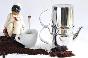 The genuine Neapolitan coffee maker of yore