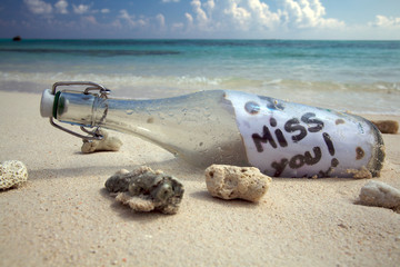 Message in a bottle!