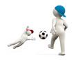 3D Man Soccer