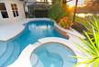 Modern pool - 19465250