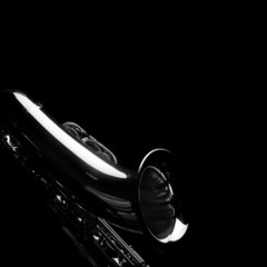 Sax on black