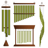 Wind chime collection poster