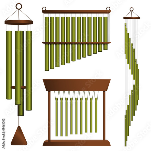 poster of Wind chime collection
