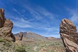 Gesteinsformation - Teneriffa - Geological formation - Tenerife poster