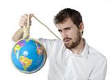 homme, pendaison mort suicide terre planète poster