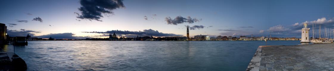 Venezia, Tramonto, Panorama