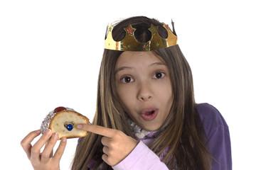 enfant qui a trouvé la fève