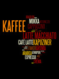 Kaffee Tag Cloud