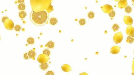 Lemons falling 1080p 25fps (available 30fps n.19378765)