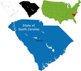 State of South Carolina, USA