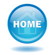 HOME Web Button (Homepage Welcome Sign Symbol Internet Vector)