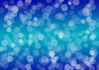 Reflektionen blau abstrakt