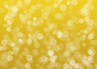 Lichtreflektionen gold abstrakt